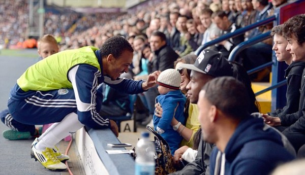 Peter Odemwingie and His Family at the Hawthorn.