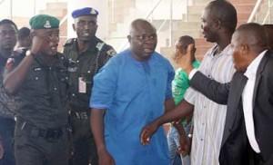 Hon. Evans Bapakaye during the mayhem