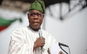 Obasanjo speaking