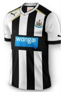 Newcastle's New Wonga-Branded Kit.