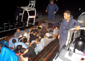 file image: People smuggling in Malaysia