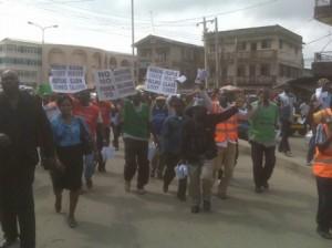 protests Nigeria edu