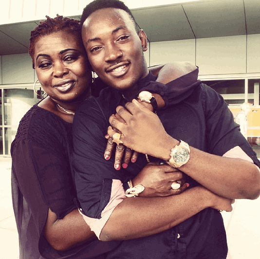 Image result for dammy krane and mum