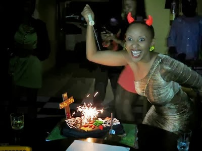 Astonishing Weird Singer Celebrates 30Th Birthday With Cake Looking Like A Birthday Cards Printable Opercafe Filternl