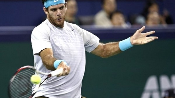 Juan-Martin del Potro Sees Off Rafael Nadal 6-2, 6-4 in Shanghai.