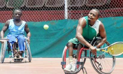 Nigeria Wheelchair Tennis.