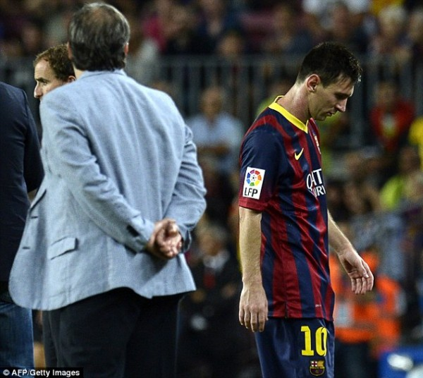 Lionel Messi Ruled Out for Up To Two Months.