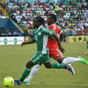 Victor Moses Dazzles for Nigeria  Against Kenya.