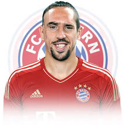Franck Ribery is One of the Three Candidates for the 2013 Fifa Ballon d'Or.