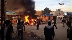 car bomb near church in Iraq