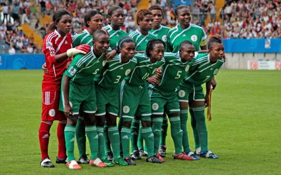 Nigeria's Senior Women's Football Team Super Falcons.