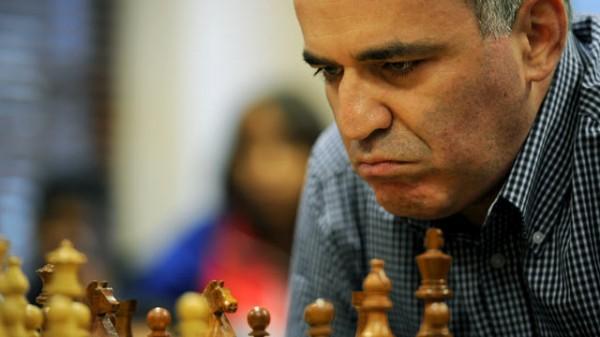 Garry Kasparov Visits Nigeria.