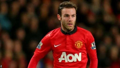 Juan Mata Will be united's Only Signing of the Winter Window. AP.