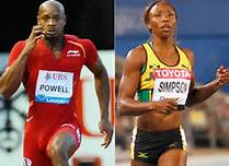 Asafa Powell and Sherone Simpson Both Tested for a Banned Stimulant Oxiflorine in June.
