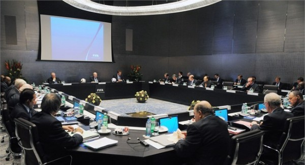 Fifa Executive Committee During a General Assembly.