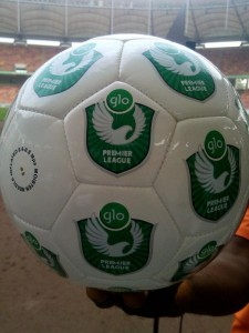 The New Glo Premier League Match Ball.