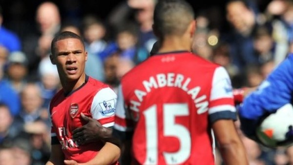 Oxlade-Chamberlain and Kieran Gibbs WIll Be in Action Against Swansea Tonight.