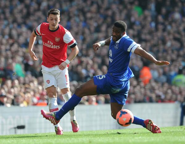 Mesut Ozil Put a Difficult Week Past Him With a Goal in Arsenal's 4-1 Win Over Everton.