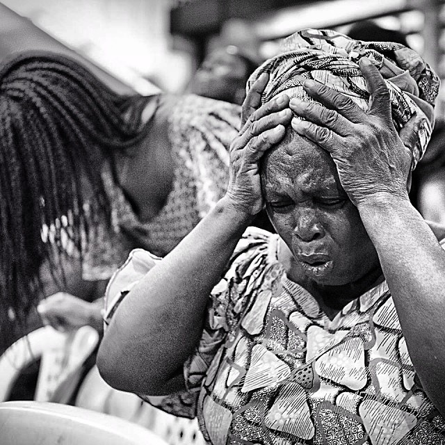 Image result for crying nigerian market women