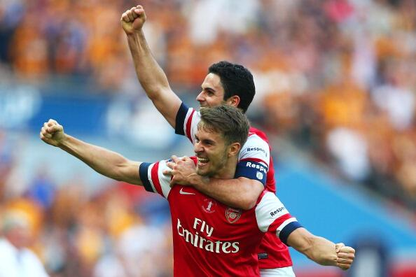 Arsenal Lifts FA Cup Nine Years After Lifting The Same Trophy in Cardiff.