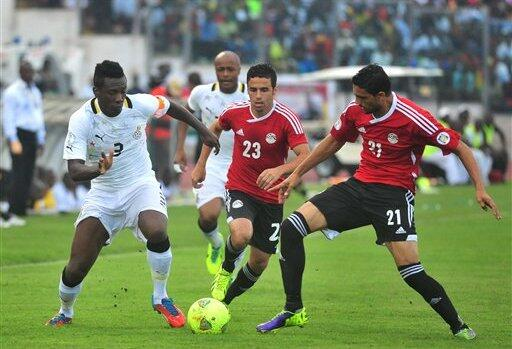 Asamoah Gyang Will Look to Make Up for His Missed Penalty Against Uruguay in South Africa 2010.