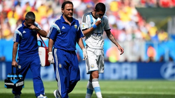 Angel Di Maria Set to Miss Argentina's Semi-Final Clash With Holland Through Injury. Image: Fifa via Getty Image.
