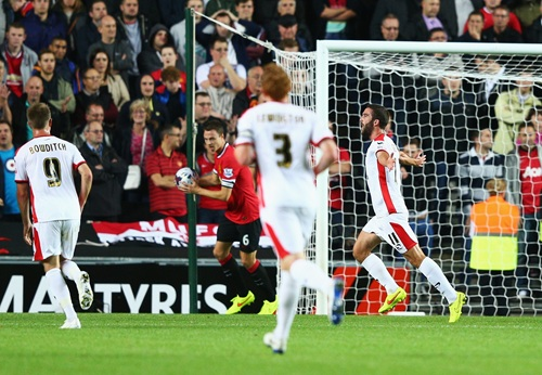 MK Dons Beat Manchester United in the Second Round of the Capital One Cup. Image: MUFC.