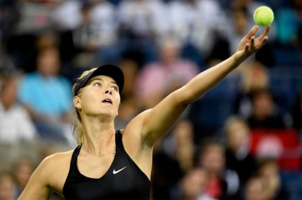 maria Sharapova Reaches the Last 16 of the 2014 US Open.