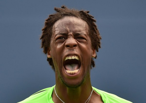 Gael Monfils is Yet to Drop a Set in the 2014 US Open. Image: Getty.