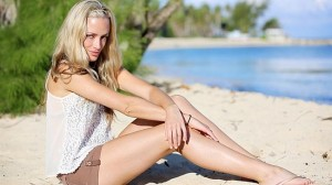 Late Reeva ... shot to death by lover on lovers' day