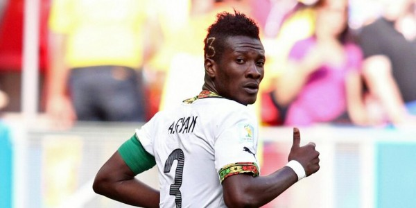 Asamoah Gyang Featured Three Times for the Black Stars at this Year's World Cup. Image: Getty.