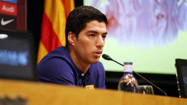 Luis Suarez is Available for His Competitive Debut Since Biting Ban Against Real Madrid on October 25.