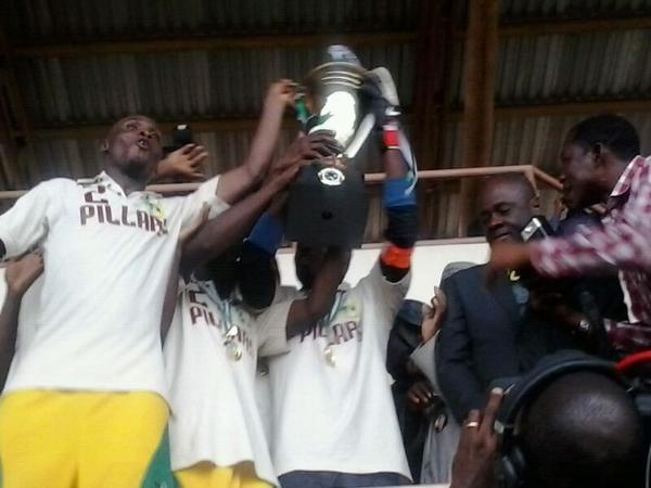 Congrats! Kano Pillars Are Nigerian Champions Again.