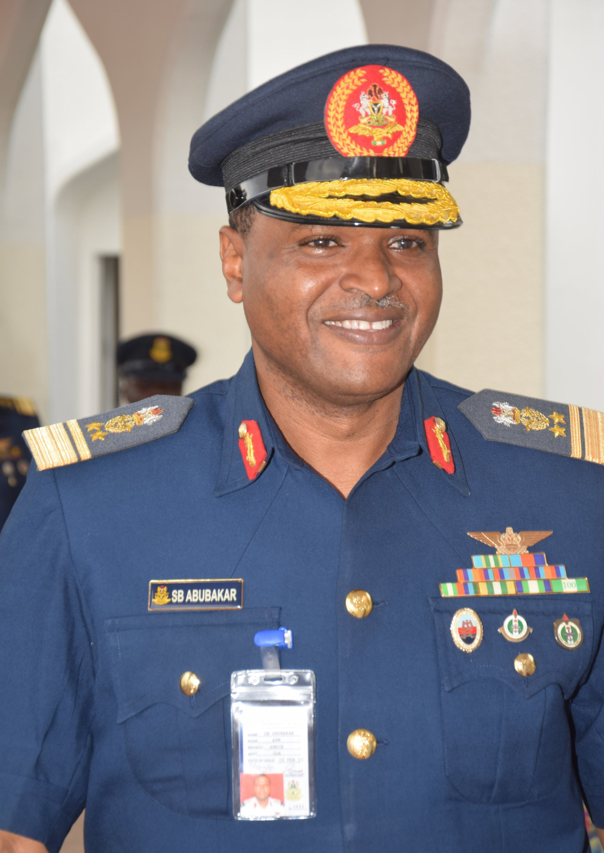 Chief of Air Staff  Air Vice Marshal Sadique Abubakar  - NAF to partnership engineering institute for efficiency