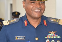 Air Chief Tasks Personnel On Daily Exercise For Physical Fitness