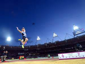 Greg Rutherford Leaped for Gold in the London Games.