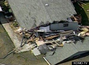 Man In Stolen Bulldozer Destroys 2 Homes, Power Lines In Port Angeles, Wa.