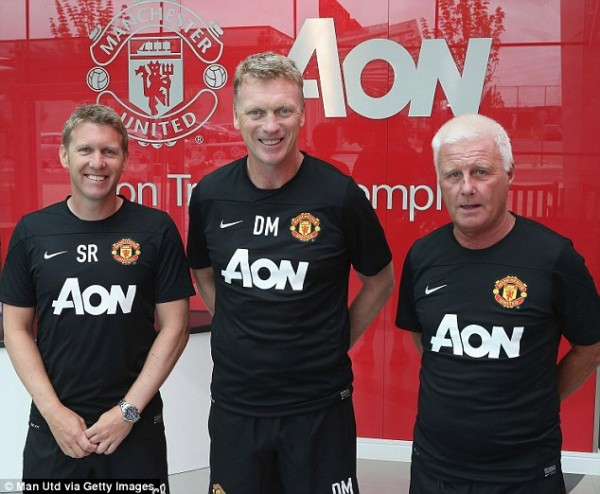 The New Faces of Manchester United Helmsmen.