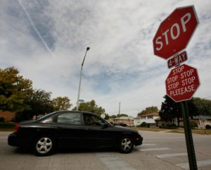 Car-thief-stops-for-owner-at-crosswalk-fight-follows