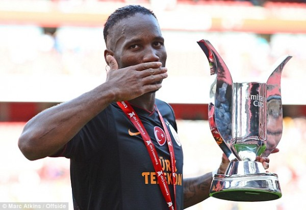Familiar Foe: Didier Drogba, the Two Goals Scorer of Arsenal-Galatasaray Pre-Season Friendly.