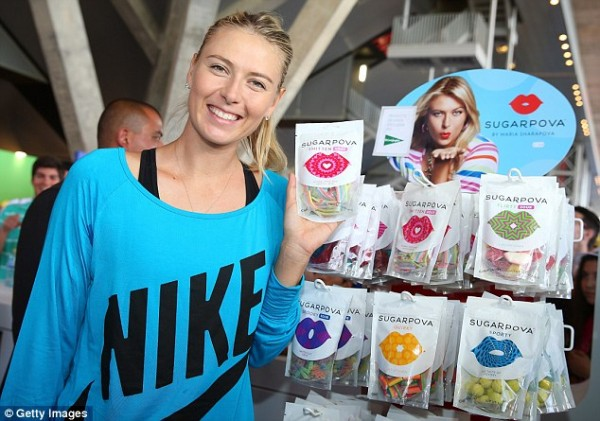 Miss Sugarpova Will Not Have the Opportunity to Promote Her Sweet Collections At the US Open Due to Injury.