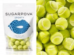 Sugarpova Sporty, One of the Sweet Ranges of Maria's Sweet Collections.