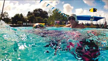 swimmingman