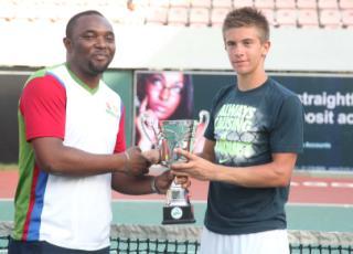 FCMB Gov's Cup: Borna Coric Wins Men's Futures 1 Singles.