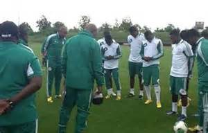 Eagles Open Training Session at the Abuja National Stadium.