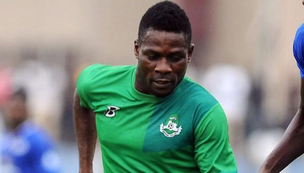 Victor Namo 2013 Glo Premier League Goal King.