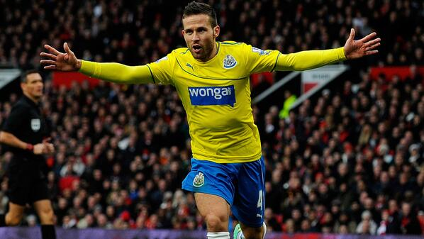Cabaye's Second-Half Strike Dealt United a Second Successive Home Loss in the Premier League.