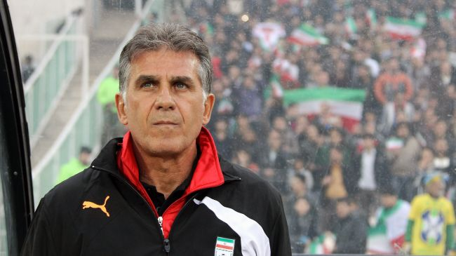 Present Iran Coach, Queiroz, Was One Time Assistant to Sir Alex Ferguson at Old Trafford.