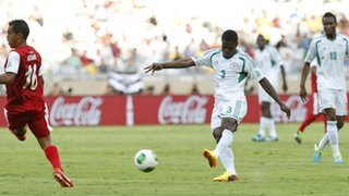Echiejile Scores a Superb Goal Against Tahiti at the Estadio Mineirao in the Confederation Cup.
