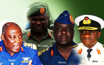 new service chiefs